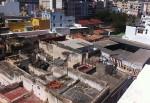 Vista desde el piso de El Toscal, calle Santiago. Santa Cruz de Tenerife
